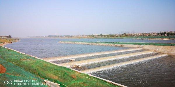 焦作大沙河橡胶坝工程