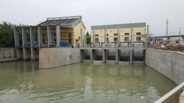 寿光市地表水综合利用北部水系联网灌溉工程(二期)泵站