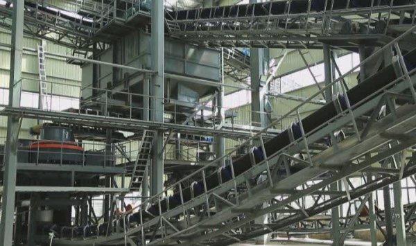 天瑞荥阳骨料及机制砂生产线项目
